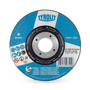 Tyrolit 115mm Grinding disc